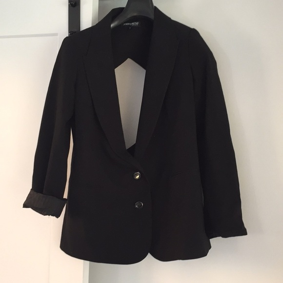 anonymous Jackets & Blazers - Anonymous clothing black backless blazer sexy S